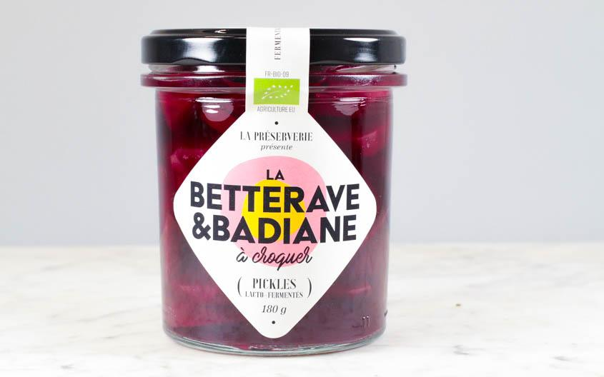 La betterave & badiane bio (180g)