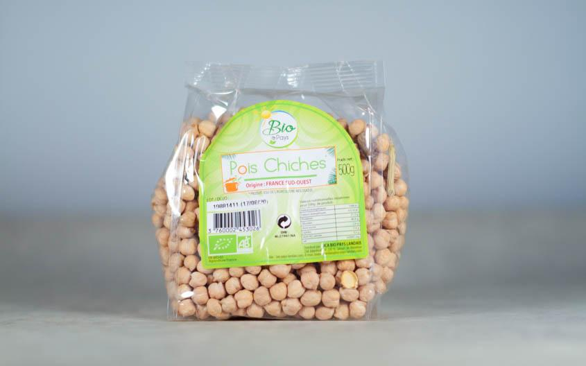 Pois chiches Bio (500g)