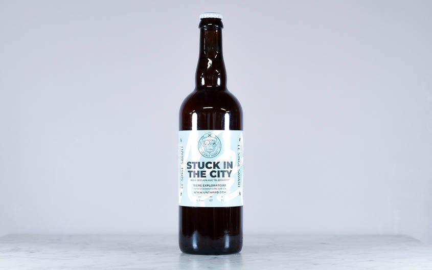 Bière IPA - Stuck in the city 75cl - 4,2°