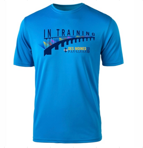 IMT Des Moines Marathon Men's Tech SS In TrainingTee
