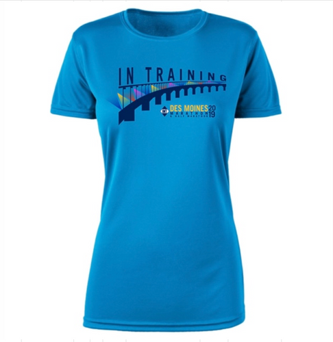 IMT Des Moines Marathon Women's Tech SS In TrainingTee