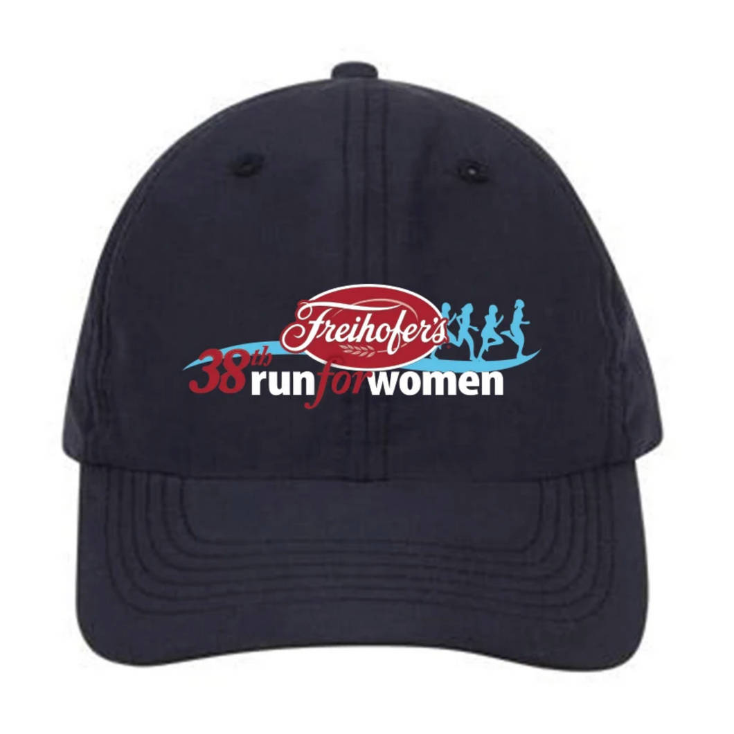 '38th Annual' Adult Microfibre Tech Cap - Navy - by US Headwear™