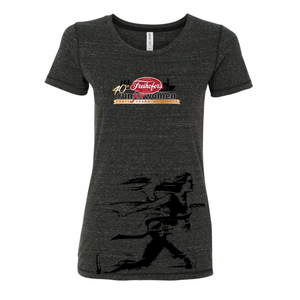 Runner' Women's SS Tri-Blend Tee - Dark Heather Grey - by All Sport