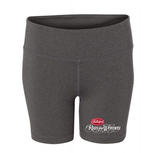 Event Logo' Women's 0 Tech Shorts - Dark Grey - by All Sport