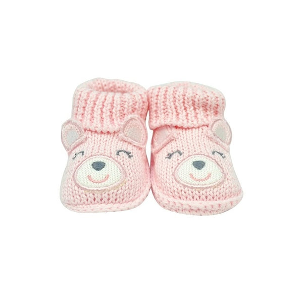 Knitted Newborn Slippers - Millennial Mom