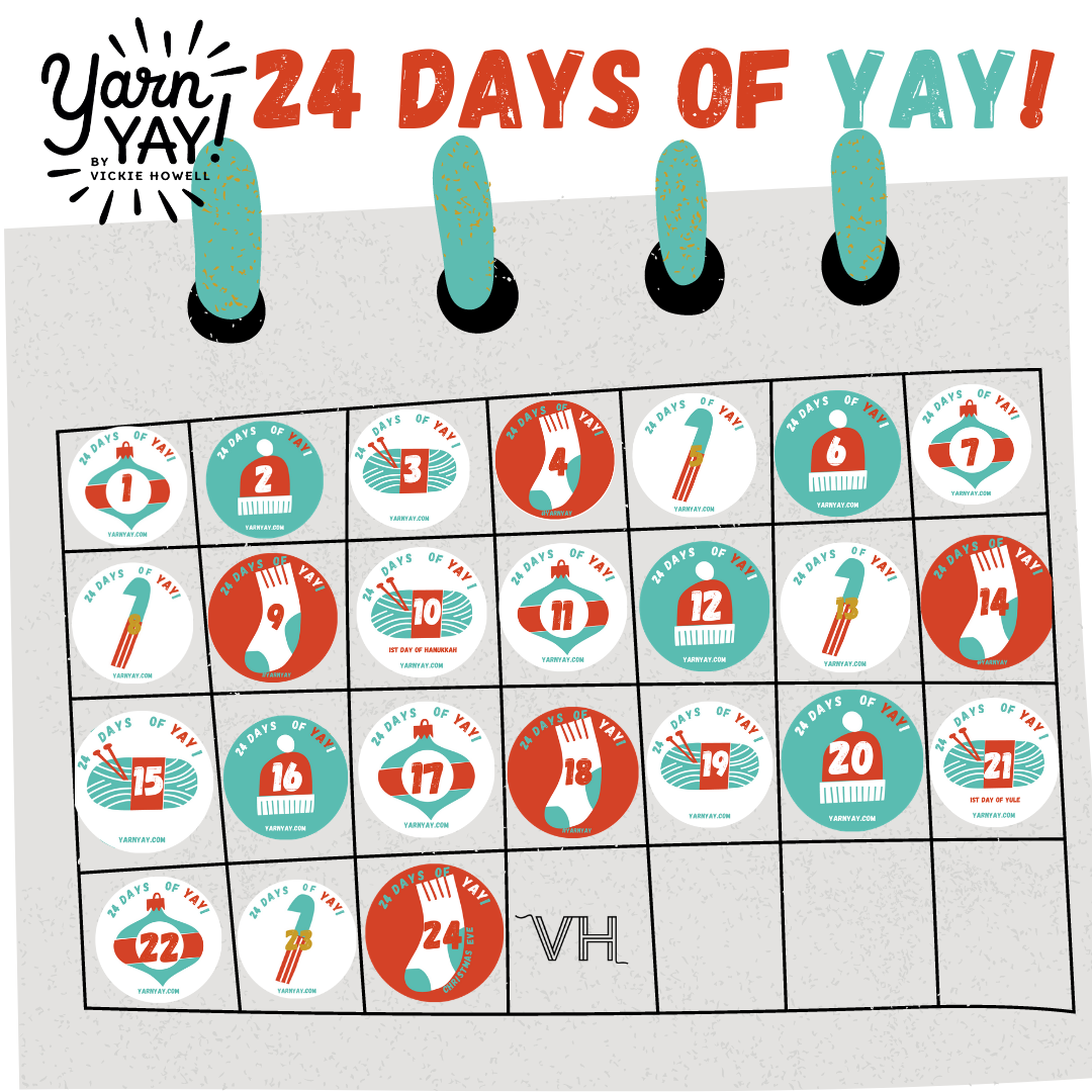 24 Days of YAY! Advent Calendar