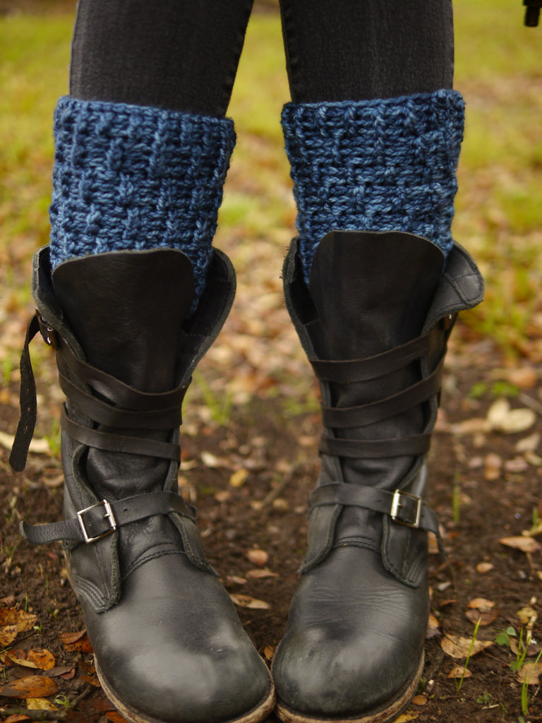 Leggy Boot Toppers Digital Crochet Pattern