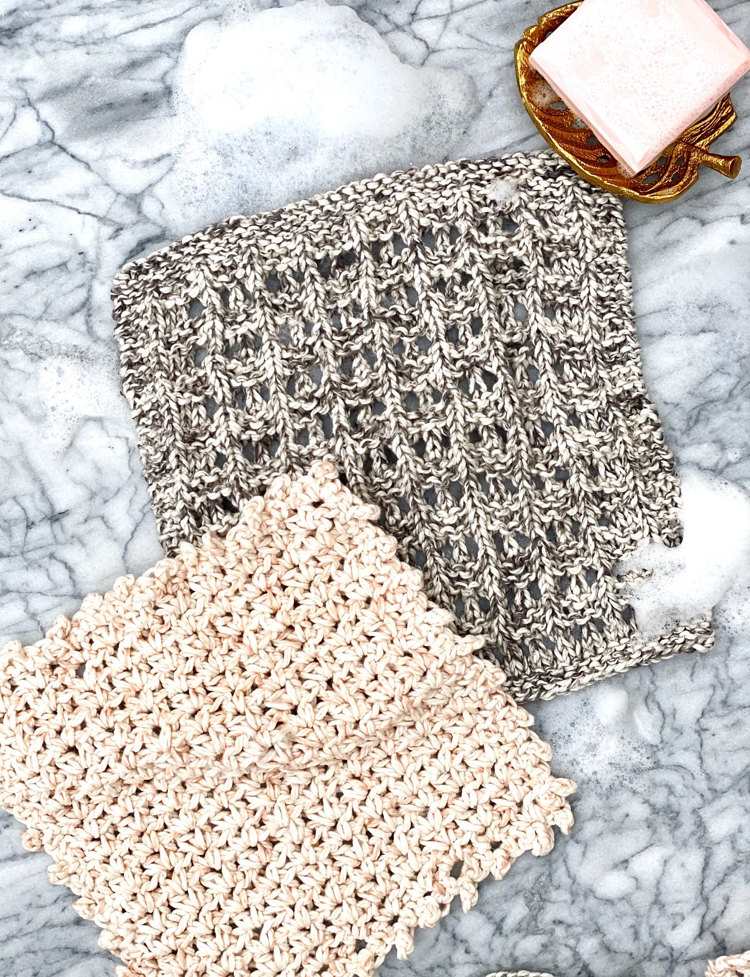 Spa Worthy Washcloths Digital Knit Pattern