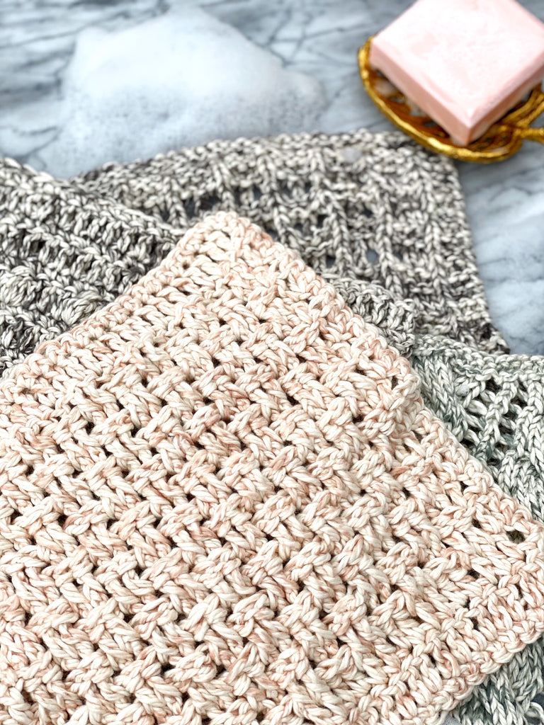 Spa Worthy Washcloths Digital Crochet Pattern