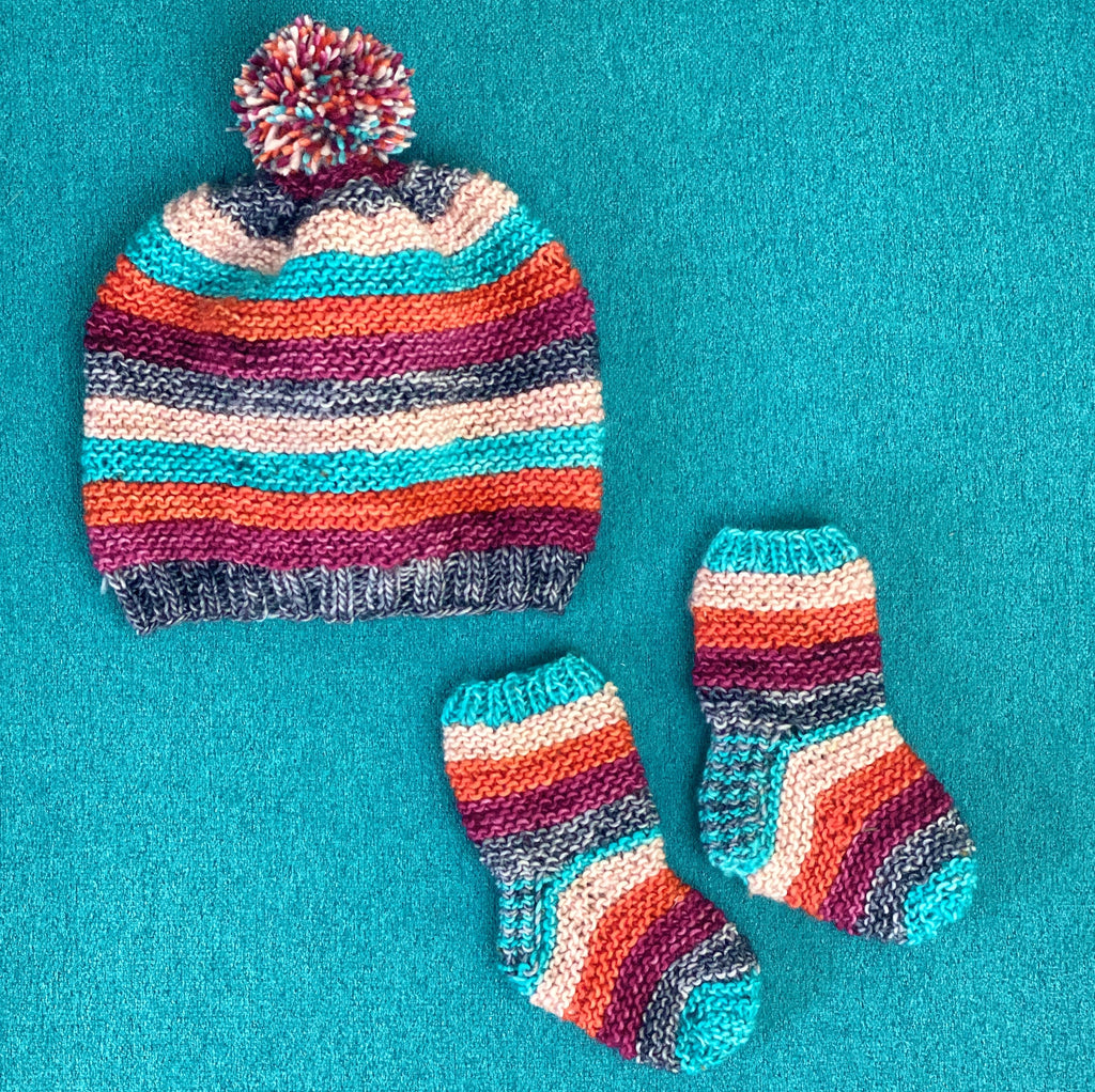Baby Bundle Set Digital Knit Pattern