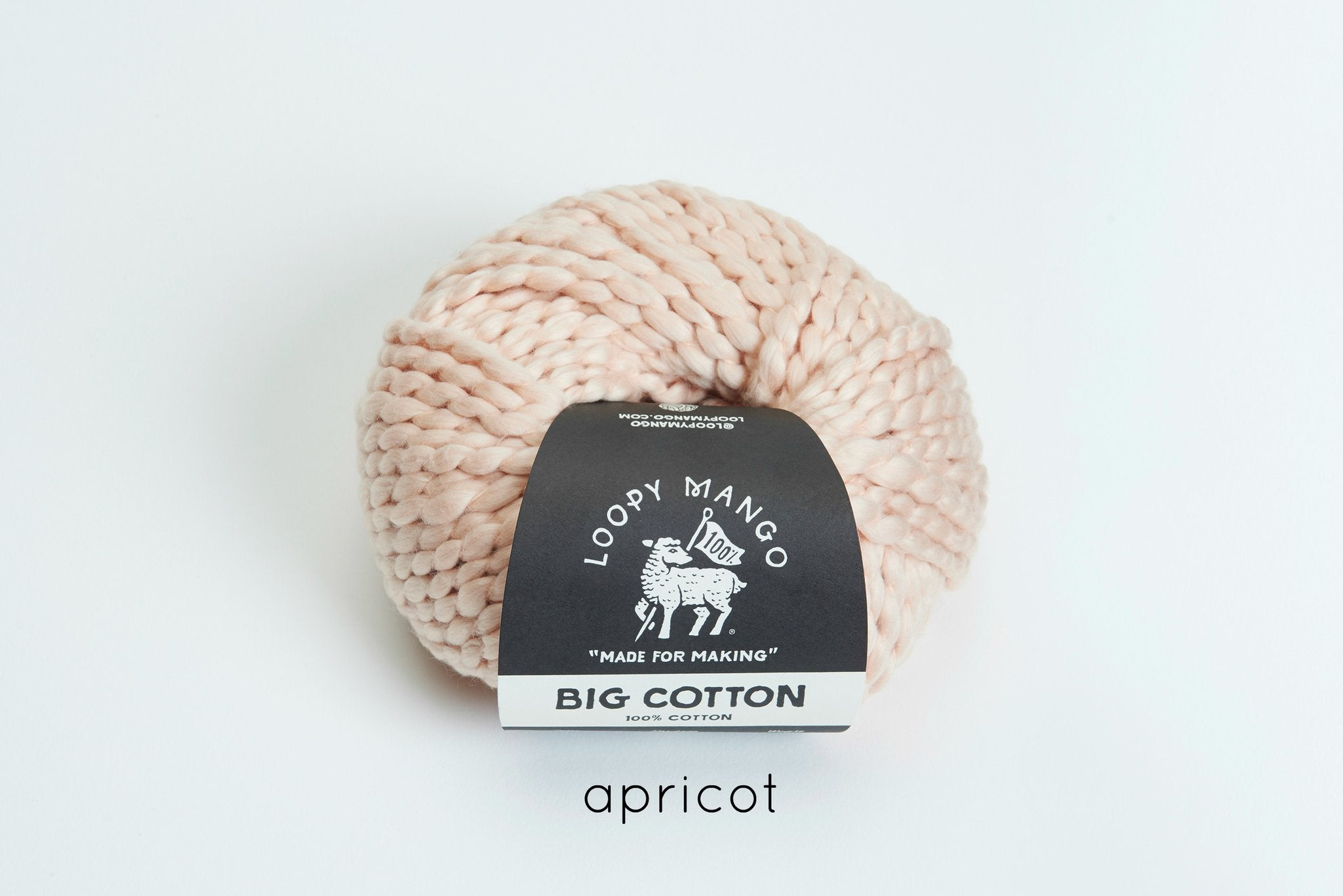 Loopy Mango Big Cotton Yarn