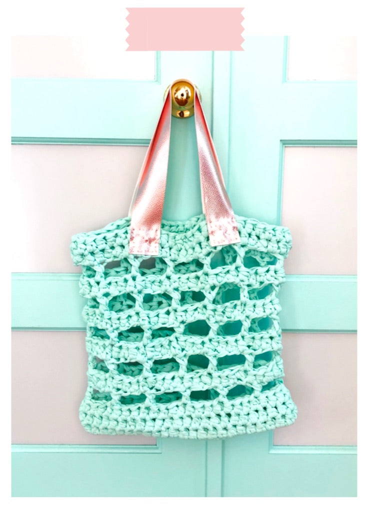 Beachy Bag Digital Crochet Pattern
