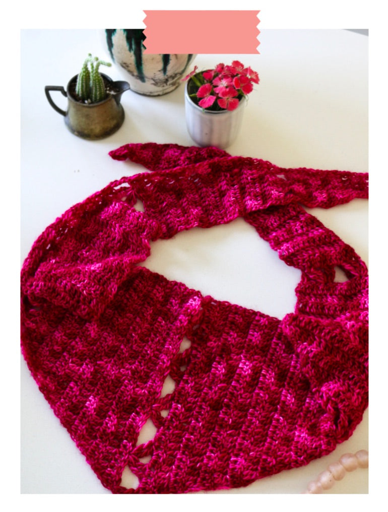 Cashmere Bandit Digital Crochet Pattern