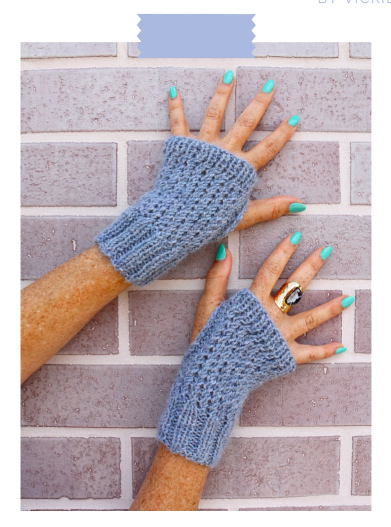 Cross-Season Mitts Knit Pattern