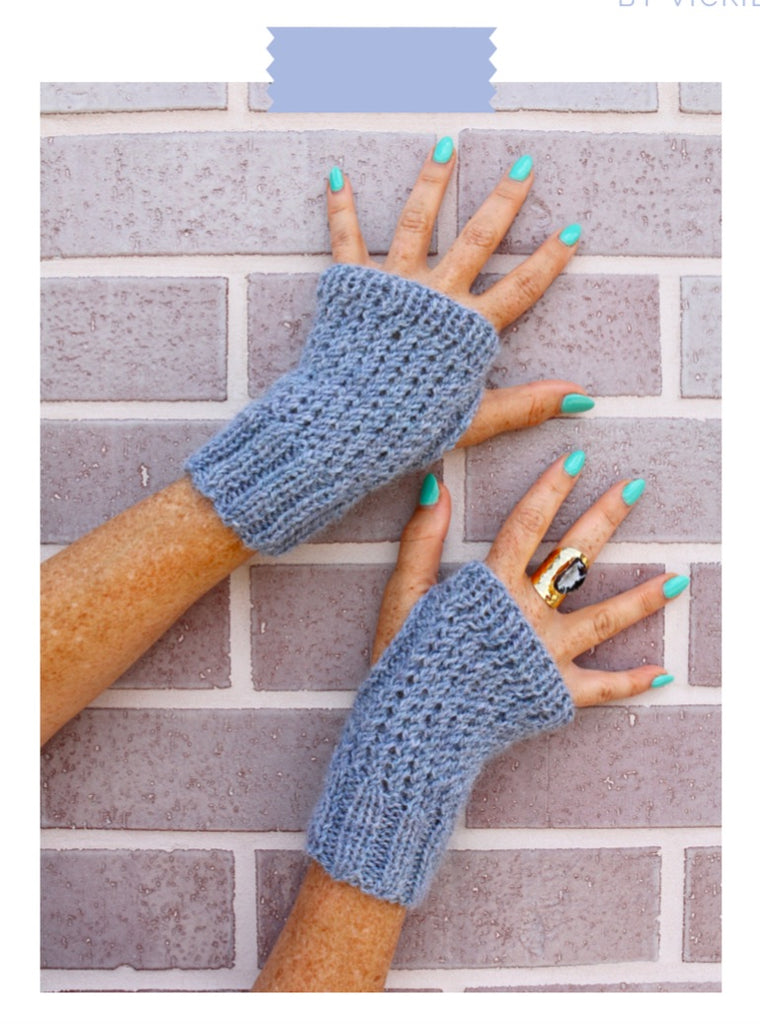 Cross-Season Mitts Digital Knit Pattern