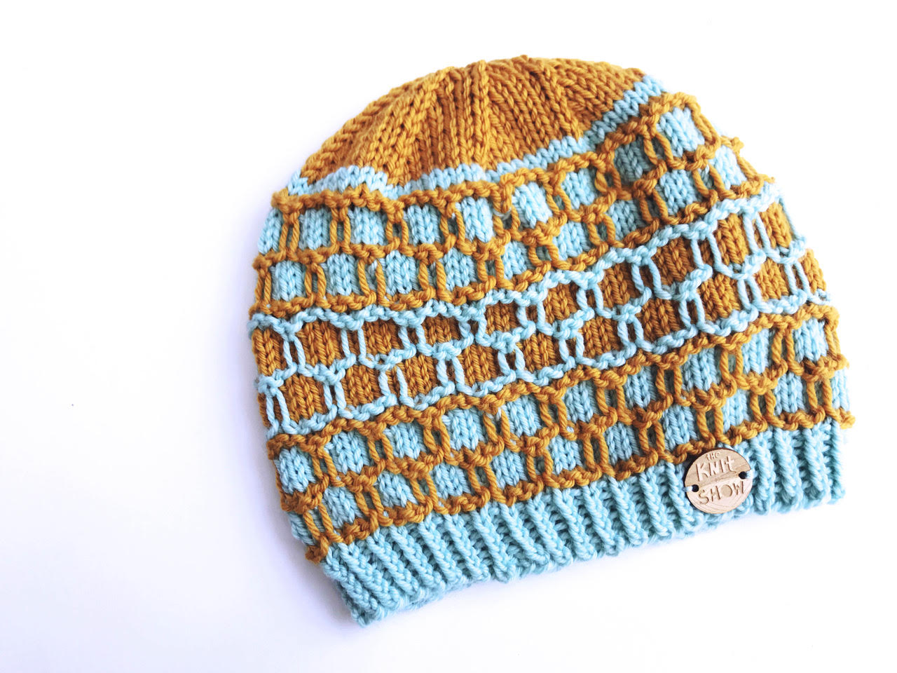 Knit Hive Hat Digital Knit Pattern