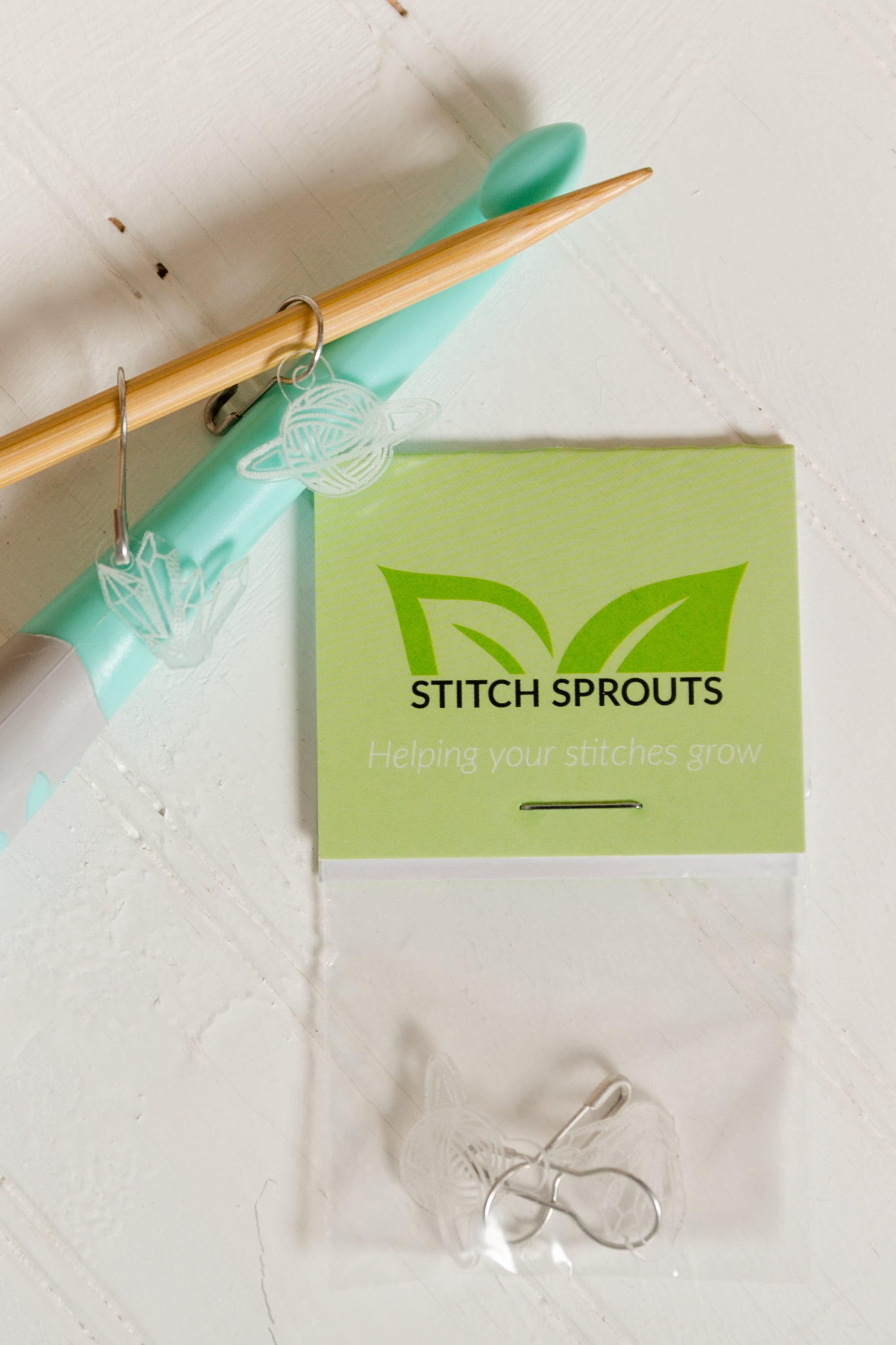 Stich Sprouts Custom Knit Vibe Stitch Markers