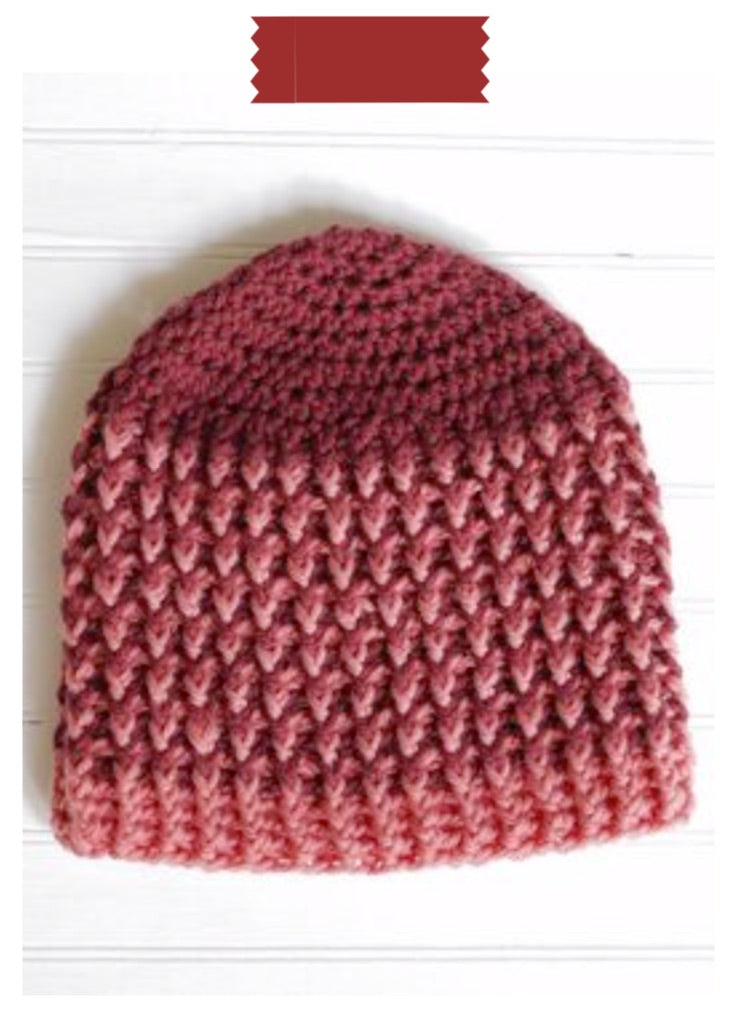 Skull Cap Digital Crochet Pattern