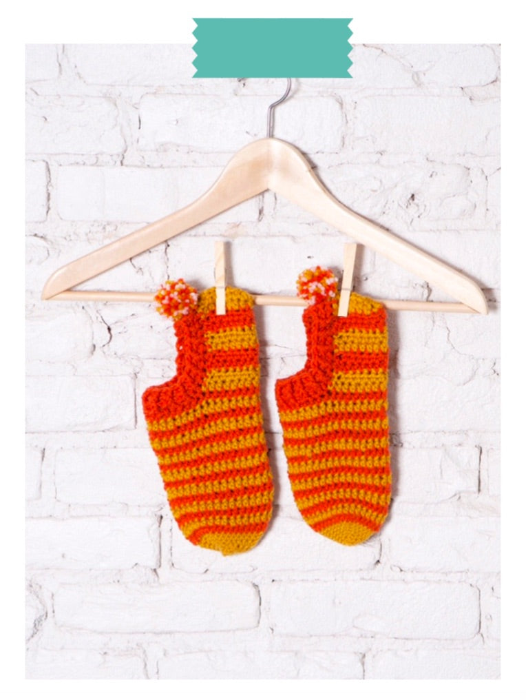 That 70's Sock Digital Crochet Pattern