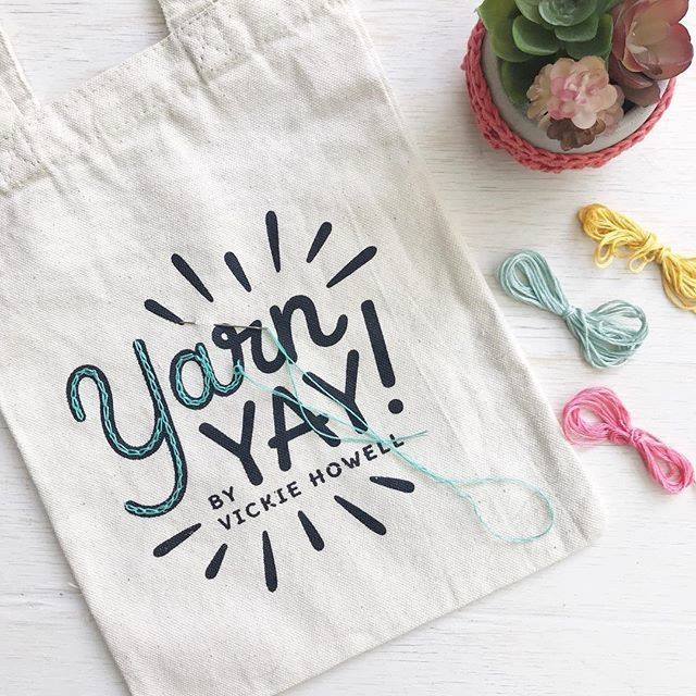 YarnYAY! Canvas Notions Bag