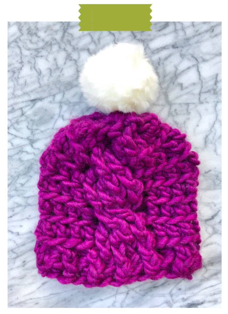Go Big Beanie Digital Crochet Pattern