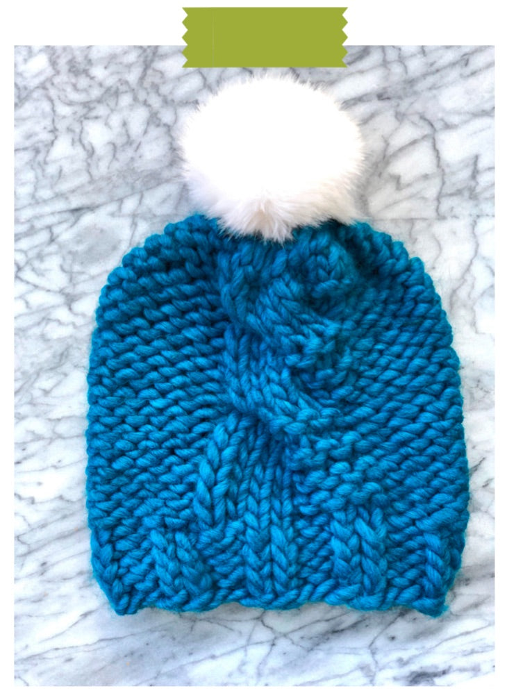 Go Big Beanie Digital Knit Pattern