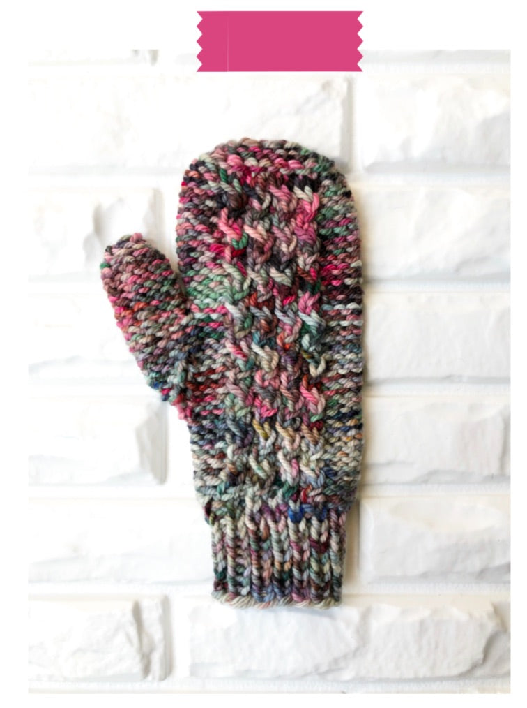 Hands-on Mittens Digital Knit Pattern
