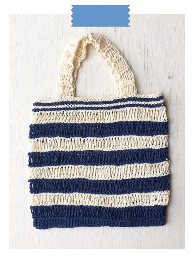 Market Bag Digital Knit Pattern