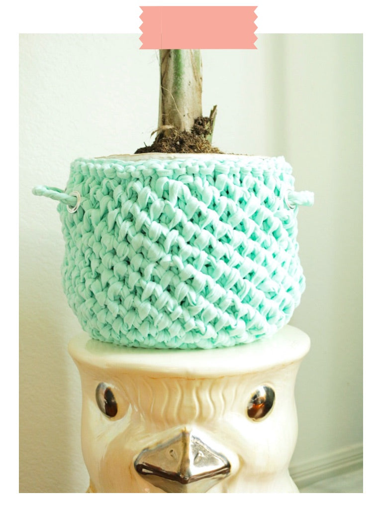 Organize knIT! Basket Digital Knit Pattern