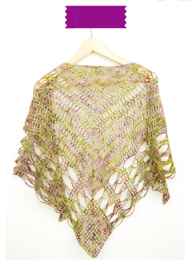 Triangle Shawlette Digital Crochet Pattern