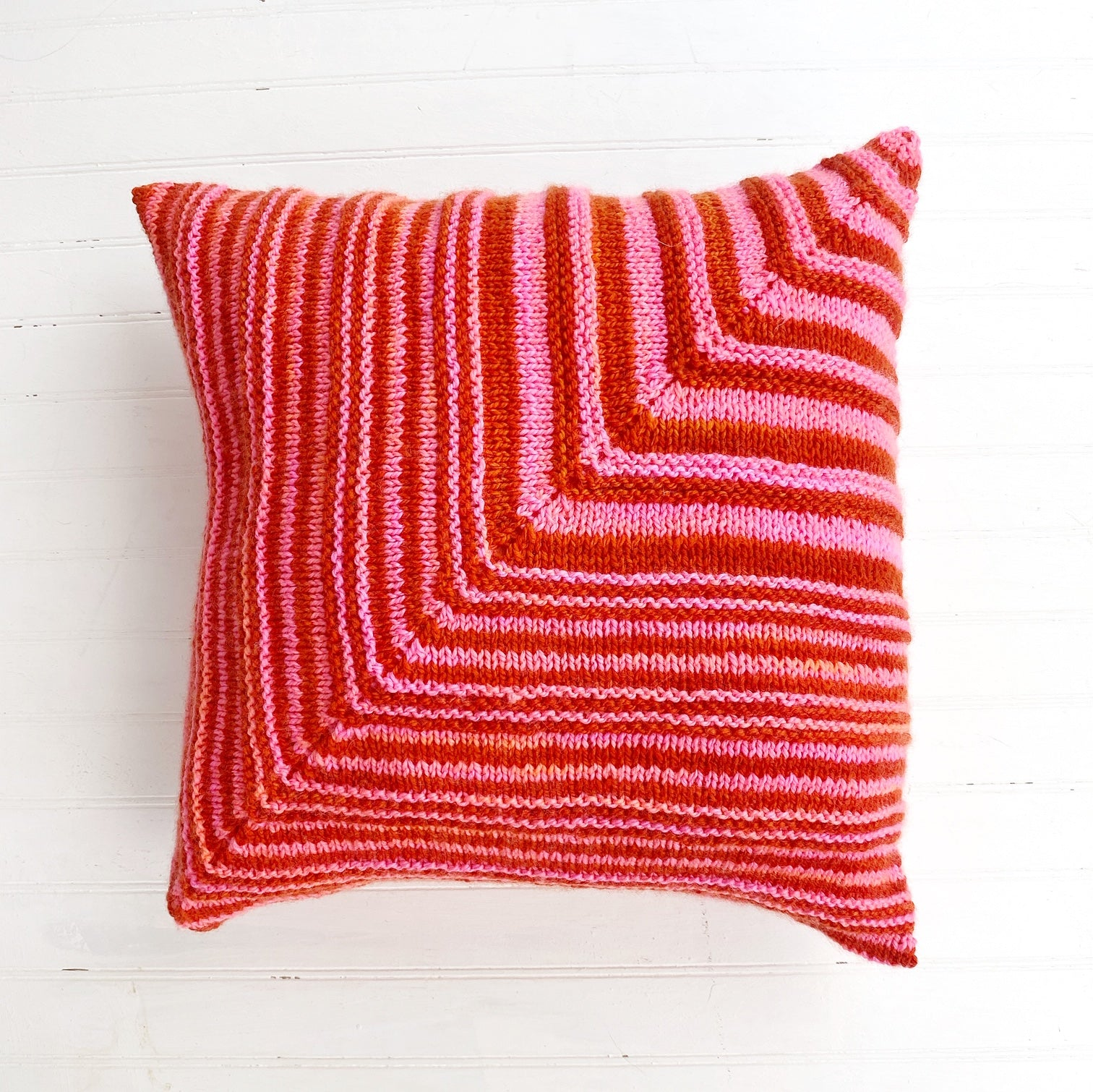 Squared Pillow (knit)