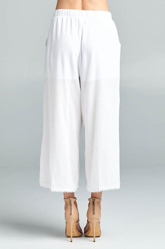 SUMMER GAUCHO PANTS