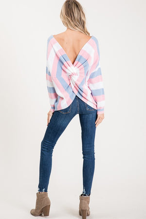 Brielle Open Back Knit Sweater