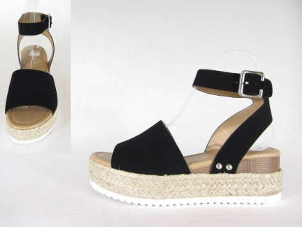 TOPIC ANKLE STRAP SANDALS