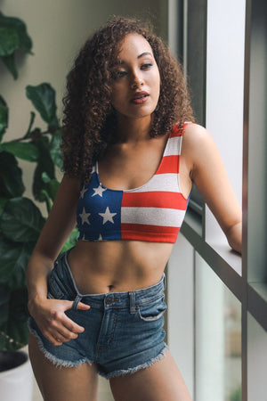 AMERICA THE BEAUTIFUL BRALETTE