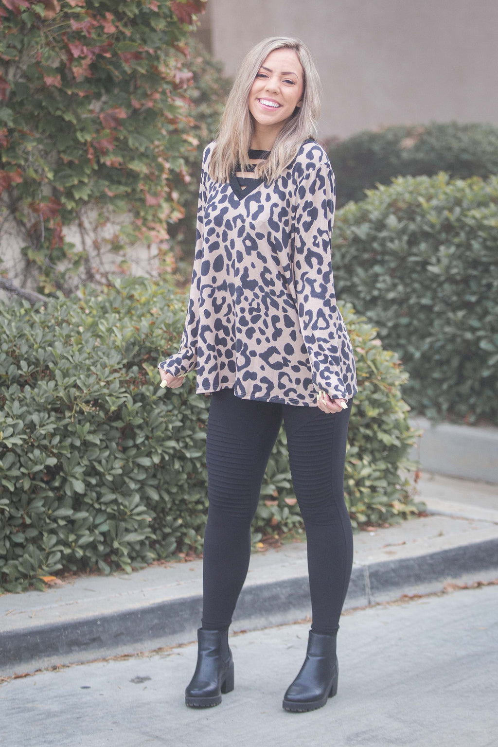You Can Do Anything Long Sleeve Tunic