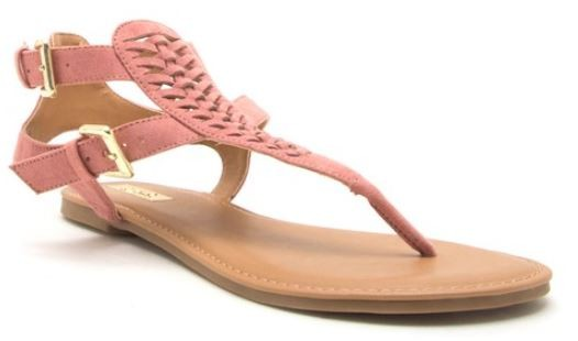 Archer Buckle Flat Sandal