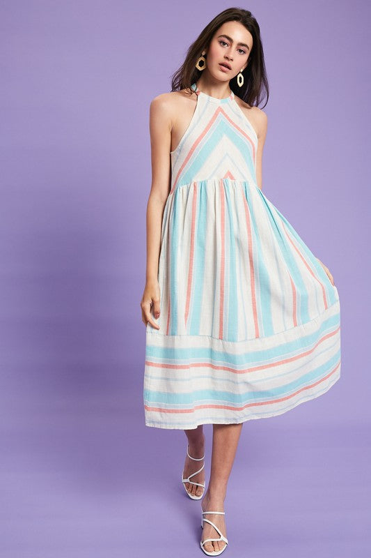 JOSIE STRIPED DRESS