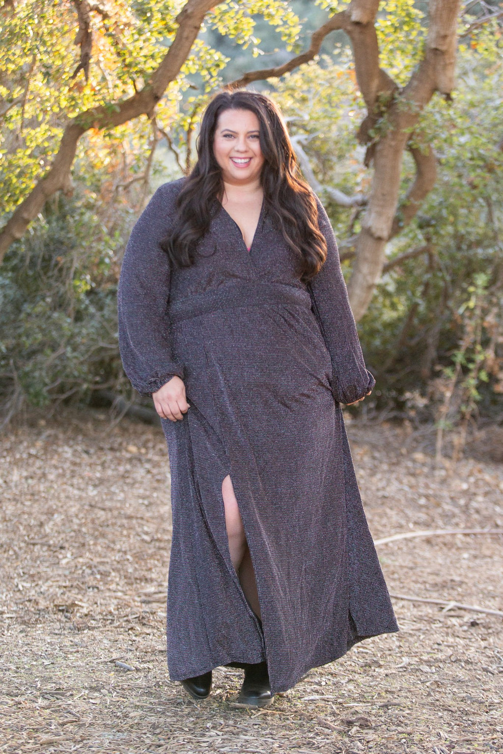 Holiday Glamour  Maxi Dress OW