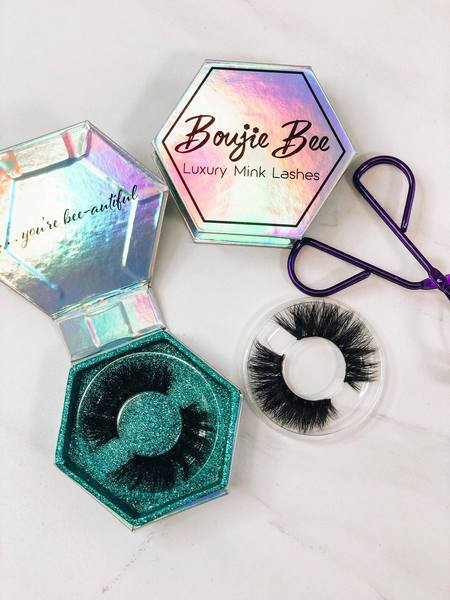 Boujie Bee Luxury Mink Lashes - Queen Bee