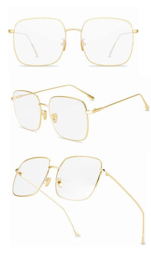 Daphne Oversize Square Blue Light Blockers