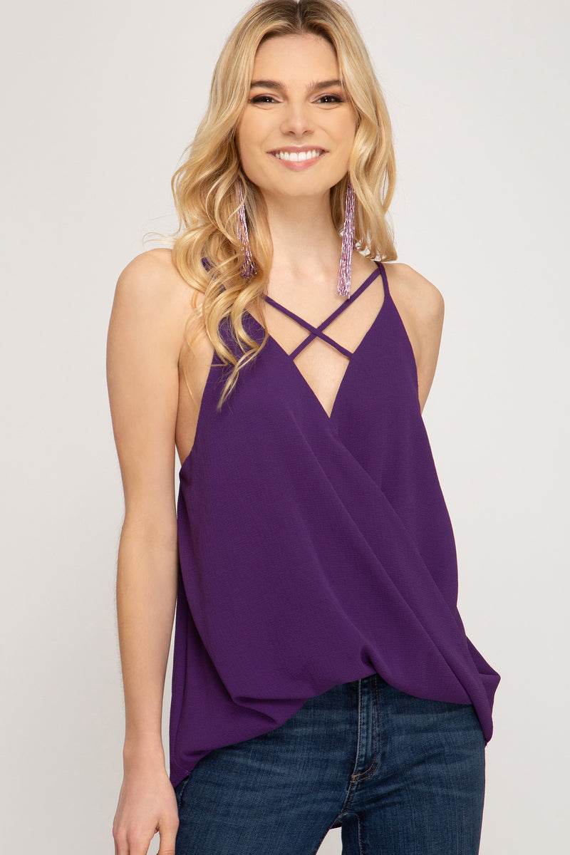 AMY CRISS CROSS CAMI