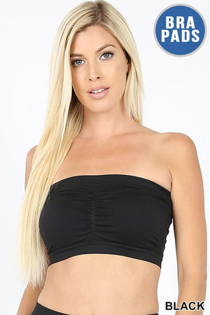 Hadley Seamless Padded Built-In-Bra Bandeau
