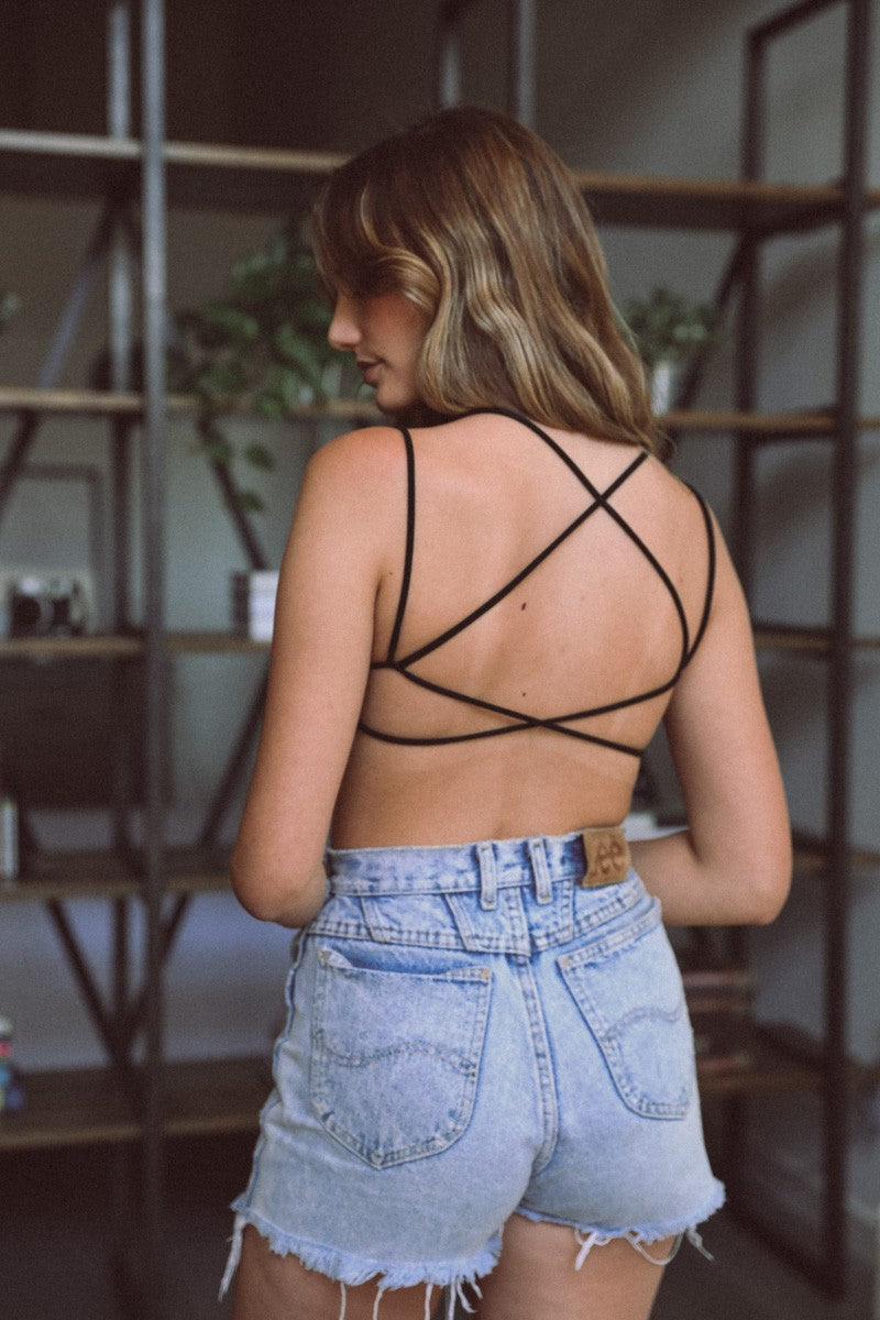 KYLE BACK CROSS BRALETTE