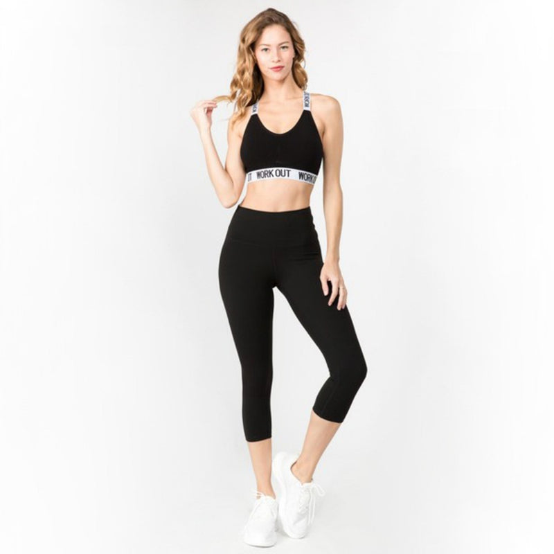 Smooth Moves Interior Pocket Athletic Leggings