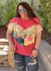 Against All Odds Chevron Tunic