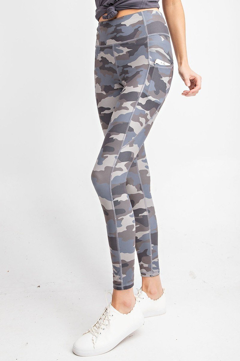 Lola Camo Print Full Length Leggings