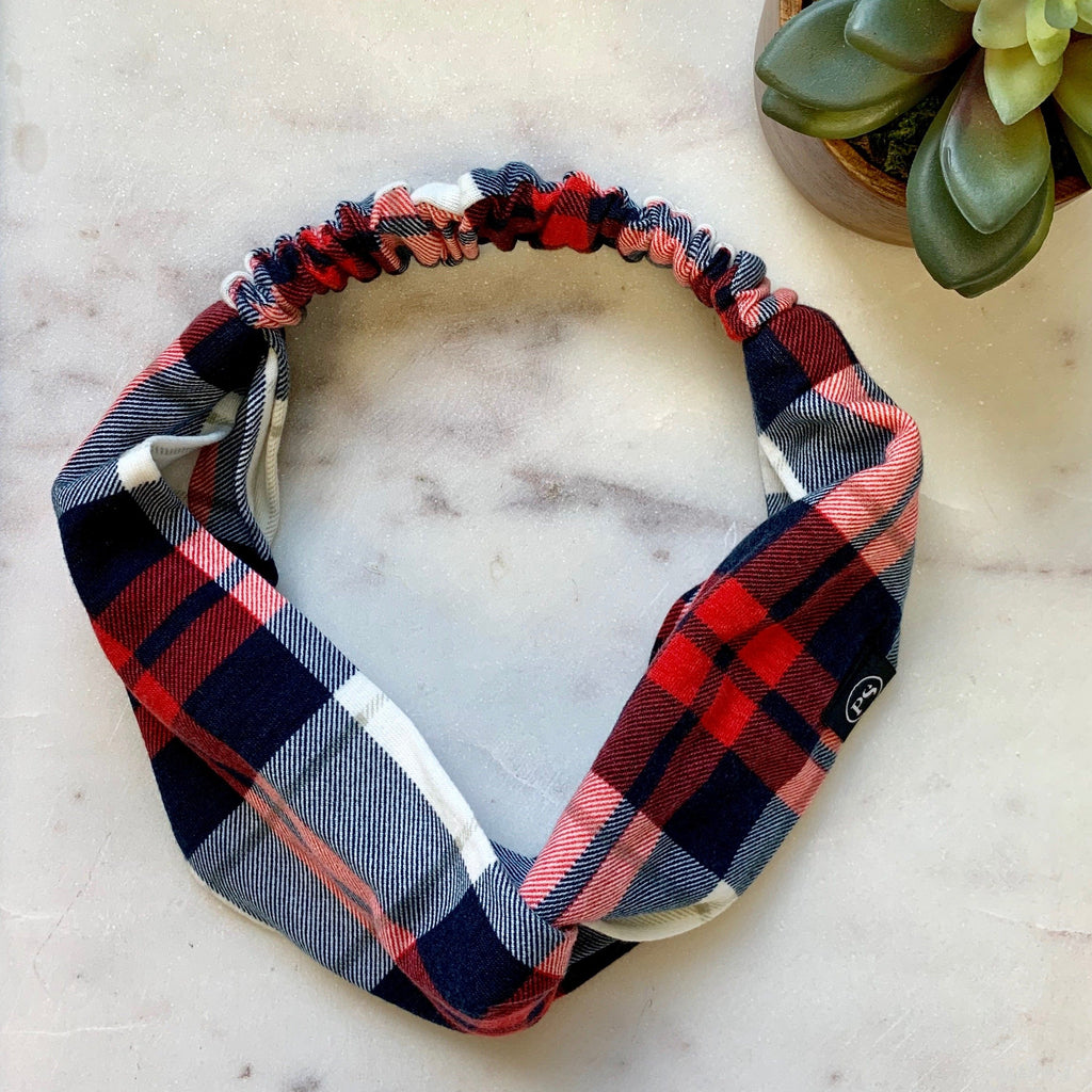 HAYLEY PRINTED KNOT HEADBANDS