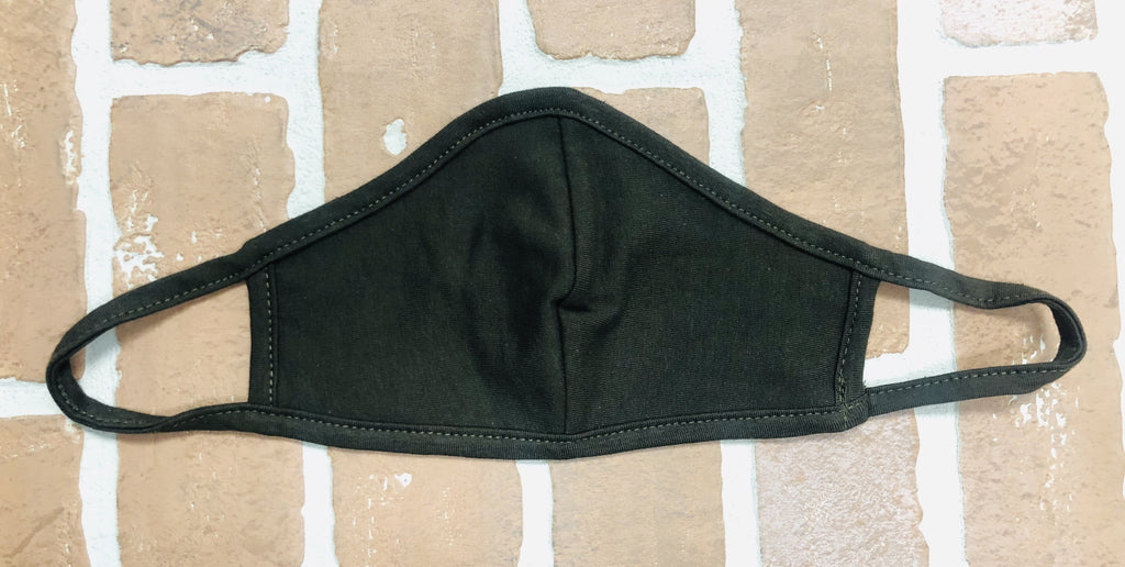 Reusable Cloth Face Covering in Olive Green *FINAL SALE*