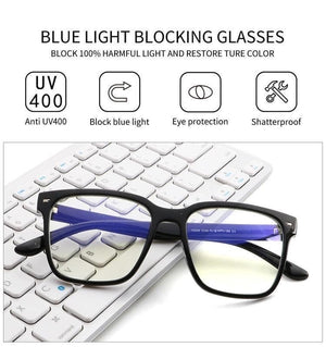 """See To Believe"" Blue Light Blocker Glasses"